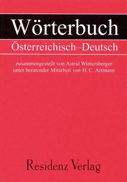 Wörterbuch Österreichisch – Deutsch von Artmann,  H. C., Wintersberger,  Astrid