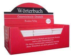 Wörterbuch Österreichisch-Deutsch von Artmann,  Hans C, Wintersberger,  Astrid