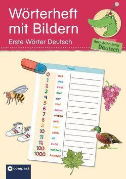 Wörterheft mit Bildern – Erste Wörter Deutsch von Fischer,  Anke, Kaufmann,  Astrid