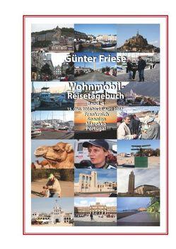 Wohnmobil-Reisetagebuch Band 4 von Friese,  Günter