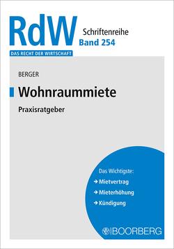 Wohnraummiete von Berger,  Hannes