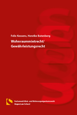 Wohnraummietrecht/Gewährleistungsrecht von Butenberg,  Henrike