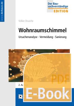 Wohnraumschimmel (E-Book) von Drusche,  Volker