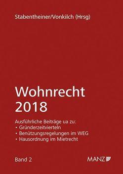Wohnrecht 2018 von Stabentheiner,  Johannes, Vonkilch,  Andreas
