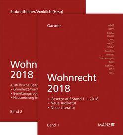 Wohnrecht 2018 Band 1 + Band 2 von Gartner,  Herbert, Stabentheiner,  Johannes, Vonkilch,  Andreas