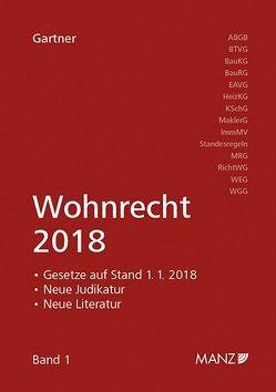 Wohnrecht 2018 von Gartner,  Herbert