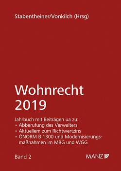 Wohnrecht 2019 von Stabentheiner,  Johannes, Vonkilch,  Andreas