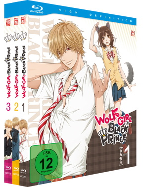 Wolf Girl & Black Prince – Gesamtausgabe (3 Blu-rays) von Kasai,  Kenichi