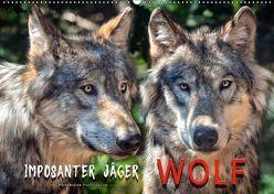 Wolf – Imposanter Jäger (Wandkalender 2018 DIN A2 quer) von Roder,  Peter