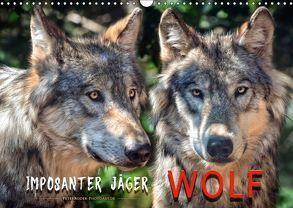 Wolf – Imposanter Jäger (Wandkalender 2018 DIN A3 quer) von Roder,  Peter