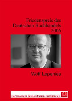 Wolf Lepenies von Lepenies,  Wolf