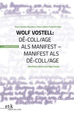 Wolf Vostell von Beuckers,  Klaus Gereon, Friedrich,  Hans-Edwin, Hanuschek,  Sven