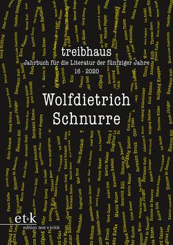Wolfdietrich Schnurre von Häntschel,  Günter, Häntzschel,  Günter, Hanuschek,  Sven, Leuschner,  Ulrike