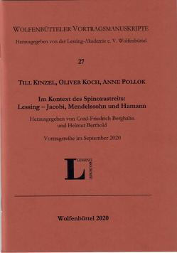 Wolfenbüttler Vortragsmanuskripte, Heft 27 von Kinzel,  Till, Koch,  Oliver, Pollok,  Anne