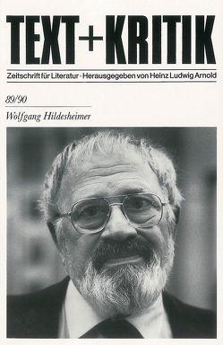 Wolfgang Hildesheimer von Arnold,  Heinz Ludwig