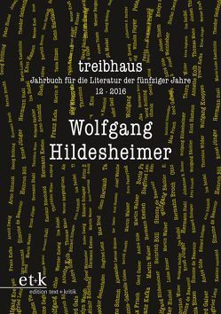 Wolfgang Hildesheimer von Häntzschel,  Günter, Hanuschek,  Sven, Leuschner,  Ulrike