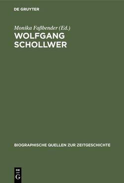 Wolfgang Schollwer von Faßbender,  Monika