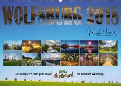 Wolfsburg 2018 – Der Benefizkalender (Wandkalender 2018 DIN A2 quer) von L. Heinrich,  Jens
