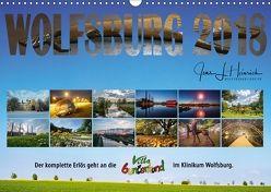 Wolfsburg 2018 – Der Benefizkalender (Wandkalender 2018 DIN A3 quer) von L. Heinrich,  Jens