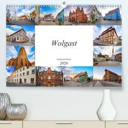 Wolgast Impressionen (Premium, hochwertiger DIN A2 Wandkalender 2020, Kunstdruck in Hochglanz) von Meutzner,  Dirk