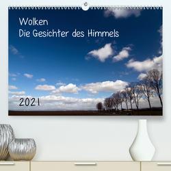 Wolken – Die Gesichter des Himmels (Premium, hochwertiger DIN A2 Wandkalender 2021, Kunstdruck in Hochglanz) von Möller,  Michael