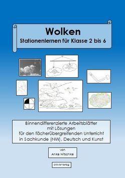 Wolken Stationenlernen für Klasse 2 bis 6 von Nitschke,  Anke
