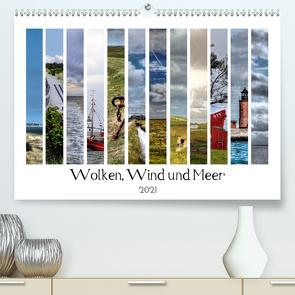 Wolken, Wind und Meer (Premium, hochwertiger DIN A2 Wandkalender 2021, Kunstdruck in Hochglanz) von Bergenthal,  Jürgen