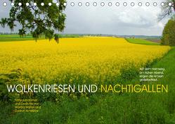 Wolkenriesen und Nachtigallen (Tischkalender 2019 DIN A5 quer) von Marten und Gudrun Schwibbe,  Martina