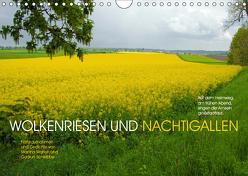 Wolkenriesen und Nachtigallen (Wandkalender 2019 DIN A4 quer) von Marten und Gudrun Schwibbe,  Martina