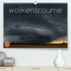 Wolkenträume – Traumwolken (Premium, hochwertiger DIN A2 Wandkalender 2020, Kunstdruck in Hochglanz) von Cross,  Martina