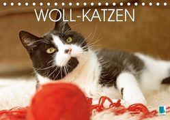Woll-Katzen (Tischkalender 2018 DIN A5 quer) von CALVENDO,  k.A.