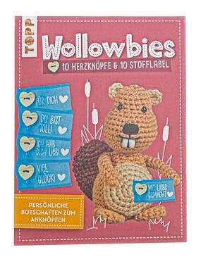 Wollowbies Label- und Knöpfeset von frechverlag