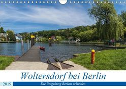 Woltersdorf bei Berlin (Wandkalender 2019 DIN A4 quer) von Fotografie,  ReDi