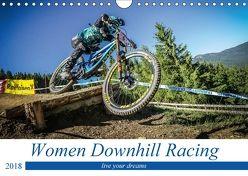 Women Downhill Racing 2018 (Wandkalender 2018 DIN A4 quer) von Fitkau,  Arne
