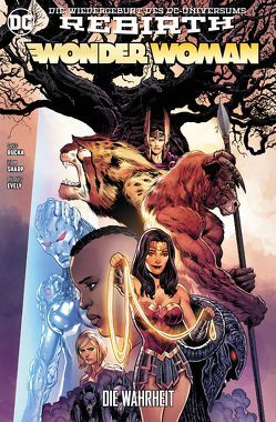 Wonder Woman von Bilquis,  Evely, Kruhm,  Ralph, Rucka,  Greg, Sharp,  Liam