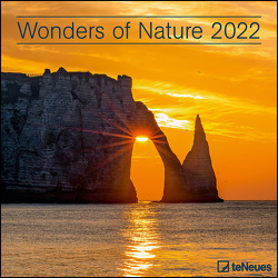 Wonders of Nature 2022 – Wand-Kalender – Broschüren-Kalender – 30×30 – 30×60 geöffnet
