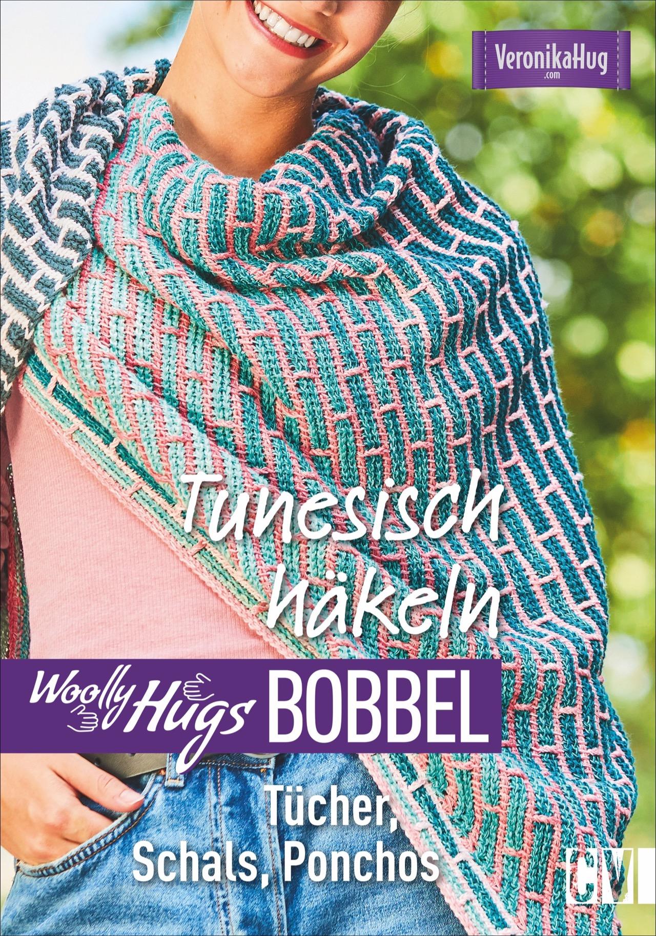 Woolly Hugs Bobbel Tunesisch Häkeln Von Hug Veronika Tücher Schal