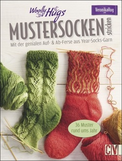 Woolly Hugs Mustersocken stricken von Hug,  Veronika