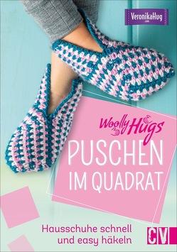 Woolly Hugs Puschen im Quadrat von Hug,  Veronika