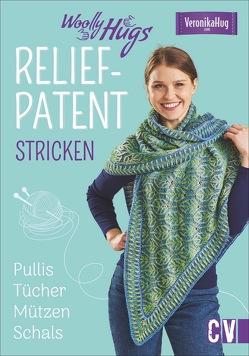 Woolly Hugs Reliefpatent stricken von Jäger,  Silvia, Veronika Hug