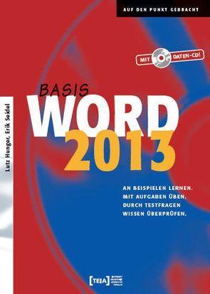 Word 2013 Basis von Hunger,  Lutz, Seidel,  Erik
