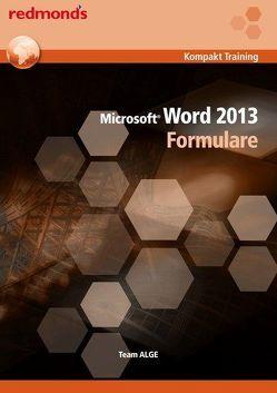 Word 2013 Formulare