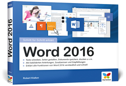 Word 2016 von Klaßen,  Robert
