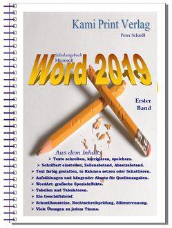 Word 2019 – Erster Band von Peter,  Schießl
