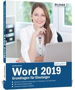 Word 2019 – Grundlagen für Einsteiger von Baumeister,  Inge
