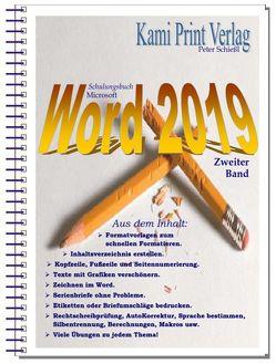 Word 2019 – Zweiter Band von Peter,  Schießl