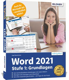 Word 2021 – Stufe 1: Grundlagen von Baumeister,  Inge
