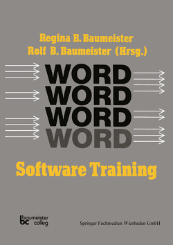 Word Software Training von Dombrowski,  Sabine