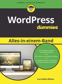 WordPress Alles-in-einem-Band für Dummies von Kommer,  Isolde, Sabin-Wilson,  Lisa