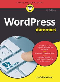 WordPress für Dummies von Kommer,  Isolde, Sabin-Wilson,  Lisa